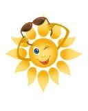Een vrolijke zon Royalty-vrije Stock Fotografie