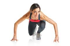 Een vrouwelijke atleet Royalty-vrije Stock Fotografie