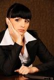 Een vrouwelijke werkgever Royalty-vrije Stock Foto