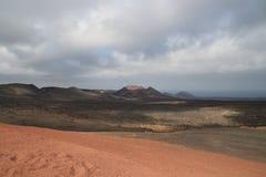 Een vulkaan Stock Afbeeldingen
