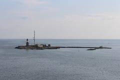 Een vuurtoren op het eiland finland Royalty-vrije Stock Fotografie