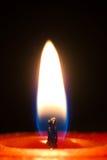 Het licht van de kaars Royalty-vrije Stock Foto's