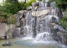 Een waterval Royalty-vrije Stock Afbeeldingen