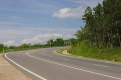 Een weg Royalty-vrije Stock Afbeeldingen