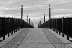 Een weg aan Royalty-vrije Stock Foto's