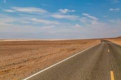 Een Weg door Doodsvallei stock foto's