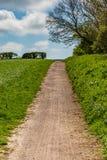 Een Weg door Gebieden stock fotografie
