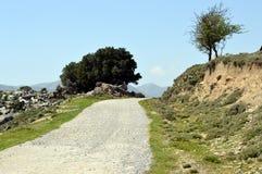 Een weg van berg Stock Afbeeldingen
