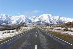 Sneeuw bergen Stock Afbeelding
