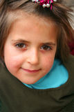 EEN WEINIG leuke meisjesportretten Stock Fotografie
