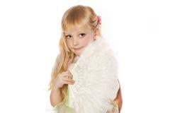 EEN WEINIG mooi meisje Royalty-vrije Stock Afbeelding