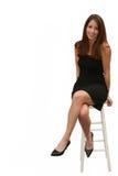 EEN WEINIG zwarte kleding Royalty-vrije Stock Fotografie