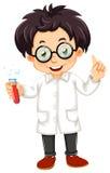 Een wetenschapper royalty-vrije illustratie