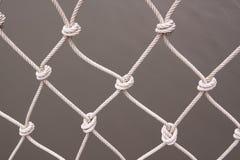Een wit net van het verschepen Stock Afbeelding