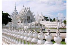 Een Witte Tempel Stock Afbeeldingen