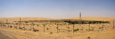 Een woestijnDorp stock foto
