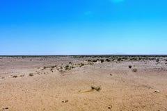Een woestijnlandschap in de Makkah-Provincie, Saudi-Arabië royalty-vrije stock foto