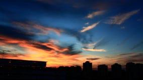 Een wolk van de Avond Stock Afbeelding