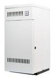 Een woon geïsoleerdee gasverwarmer, stock foto's