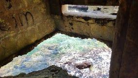 In een ww2 bunker Stock Afbeeldingen