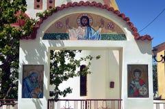 Een zaal van Orthodoxe Kerk Royalty-vrije Stock Fotografie