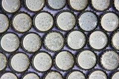 Een zachte spons in kroonkurk Stock Afbeeldingen