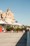 Een zaterdagochtend in Cagliari royalty-vrije stock foto
