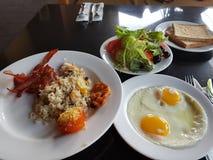 Een zeer gezond ontbijt in indonasia van Bali royalty-vrije stock foto's