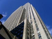 Een zeer Lange Gebouw/een Skyscaper Stock Afbeelding