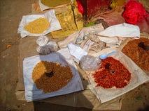 een zeevruchtenmarkt in Vietnam royalty-vrije stock foto's
