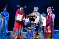 """Een zelfmoord nota-verslag van Zuidelijke boeg-Jiangxi opera""""four dromen van linchuan† Stock Afbeelding"""