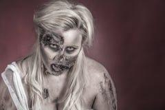 De bruid van de zombie Stock Afbeeldingen