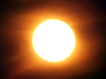 Een zon Royalty-vrije Stock Afbeeldingen