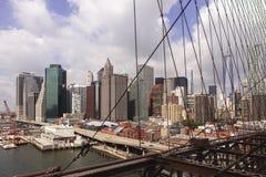 Een zonnige dag in New York stock afbeelding
