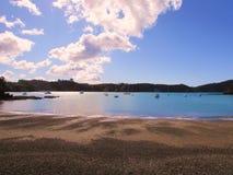 Een zonnige dag in Nieuw Zeeland Royalty-vrije Stock Foto's