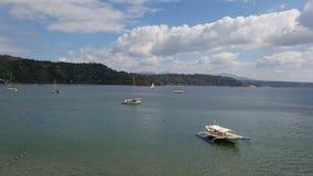 Een zonnige dag in Subic-baai, Filippijnen stock foto