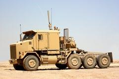 Een zware vrachtwagen Stock Foto