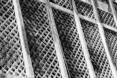 Een zwart-wit abstract patroon van unieke textuur Royalty-vrije Stock Foto's