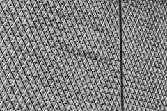 Een zwart-wit uniek abstract patroon van herhaalde details Royalty-vrije Stock Foto's