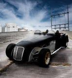 De open tweepersoonsautoschrijver uit de klassieke oudheid van de auto Royalty-vrije Stock Foto