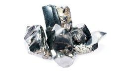 Een zwarte rots die hoofdzakelijk uit koolstof bestaat en in hoogste kwaliteit gefotografeerd royalty-vrije stock foto's