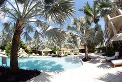 Een zwembad bij hotel 2 Royalty-vrije Stock Foto