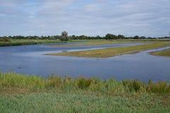 Eendragtspolder natury teren holandie Zdjęcia Royalty Free