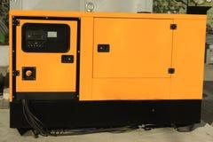 Eenerator diesel auxiliar para la emergencia Electric Power imágenes de archivo libres de regalías