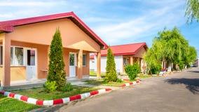 Eenheden in een betaalbaar motel Royalty-vrije Stock Foto's