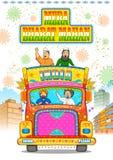 Eenheid in diversiteit van India Royalty-vrije Stock Afbeeldingen