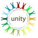 Eenheid en vrede Stock Afbeeldingen