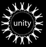 Eenheid en vrede royalty-vrije stock afbeelding