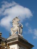Eenhoorn op de koningen Stock Afbeeldingen