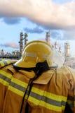 Eenvormige brandvechter ` s Stock Fotografie